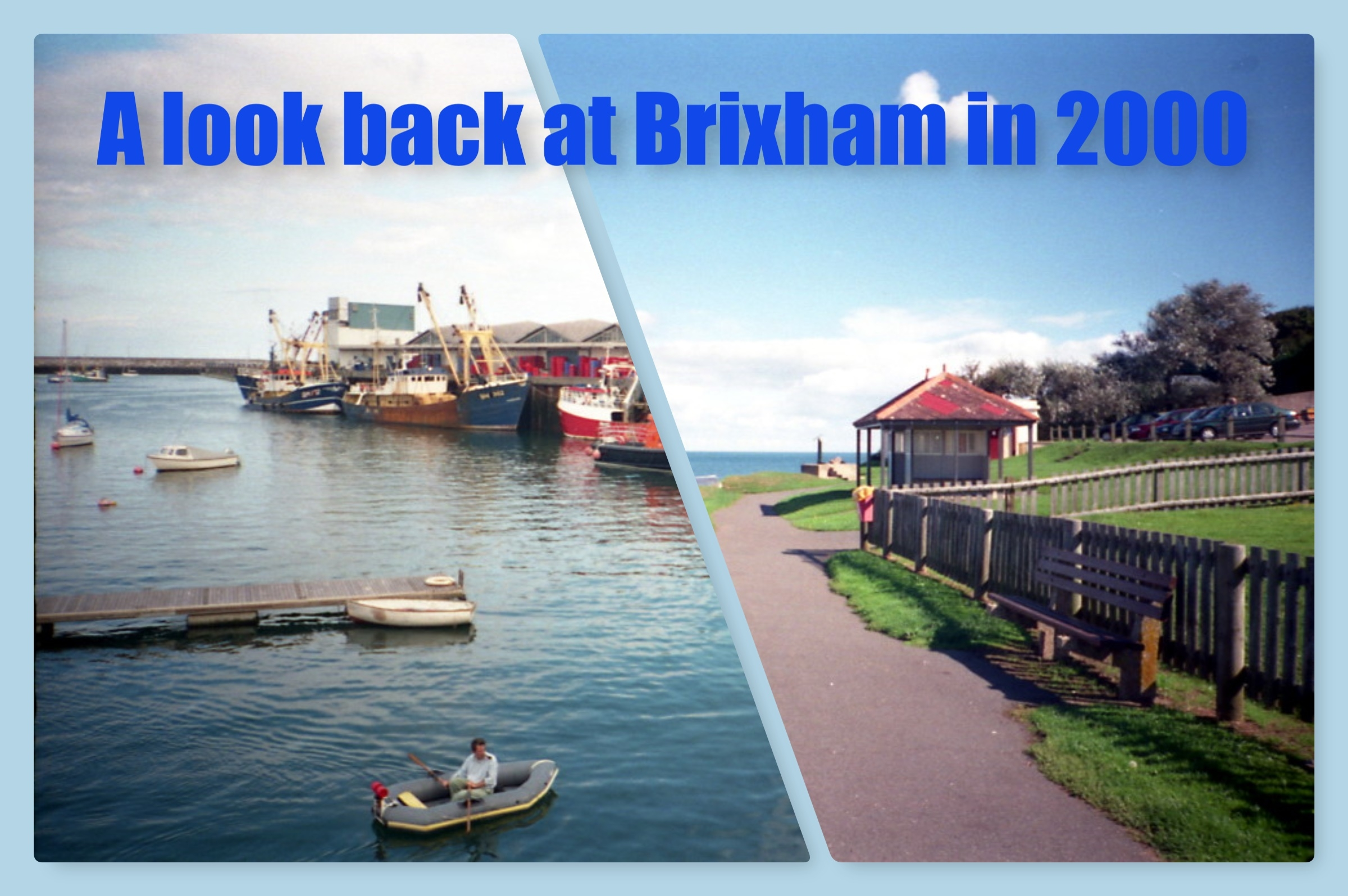 A look back at Brixham: photos from the year 2000