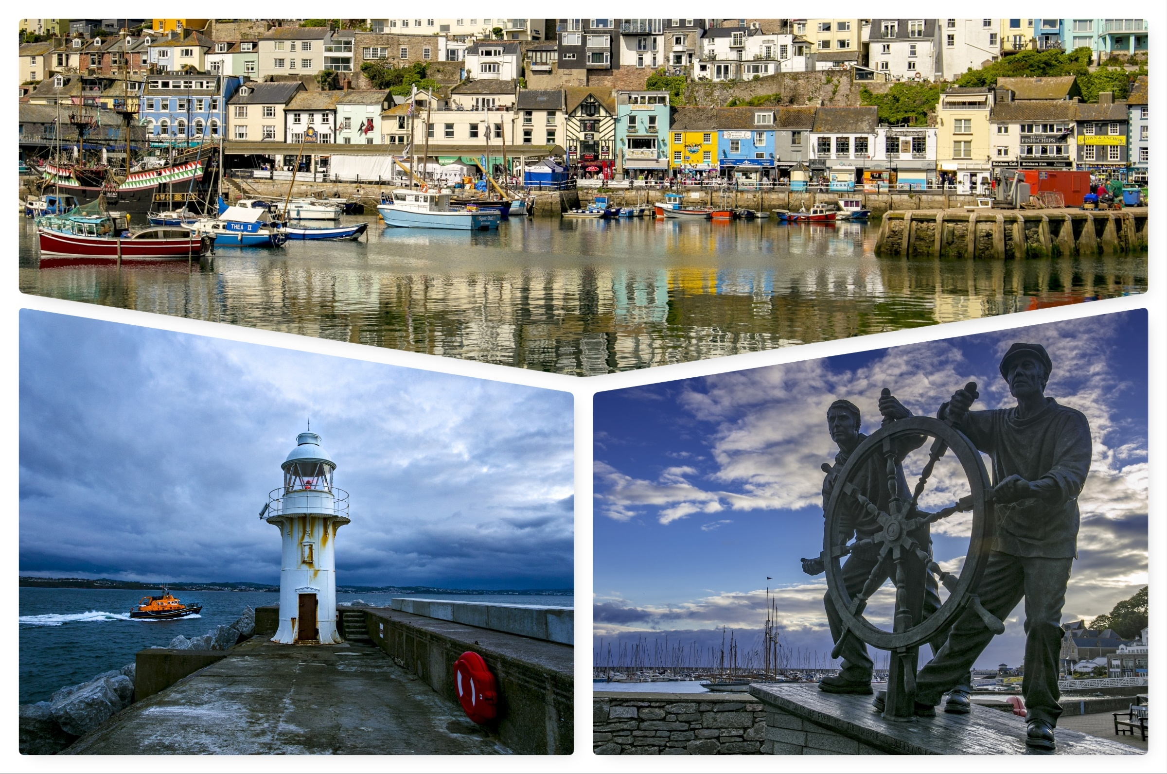 Steve Mantell photographs Brixham