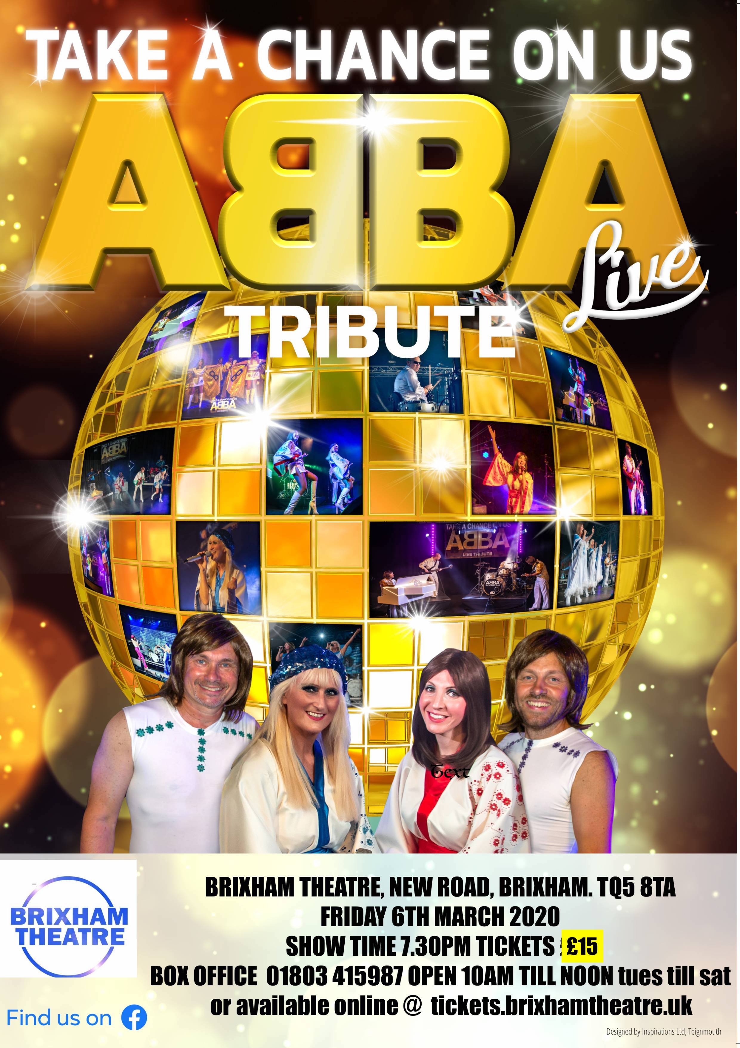 Take A Chance On Us – ABBA Tribute