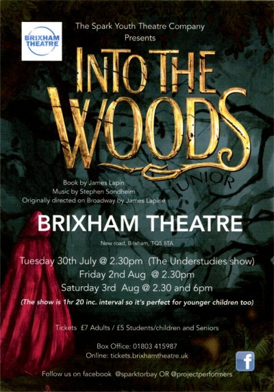 Spark Youth Theatre Company - Into The Woods