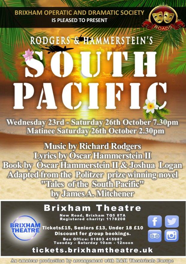 BOADS presents - South Pacific